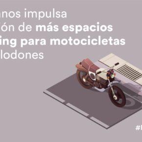 Por iniciativa presentada por Ciudadanos, Torrelodones tiene ya más aparcamientos para motocicletas