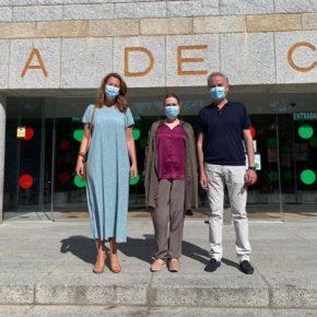 La Consejera de Cultura de la Comunidad de Madrid, visita Torrelodones