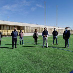 """Ciudadanos visita el nuevo campo de rugby """"Antonio Martín"""""""