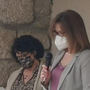 Ciudadanos (Cs) Torrelodones en la lectura del manifiesto del Día Internacional de la Mujer